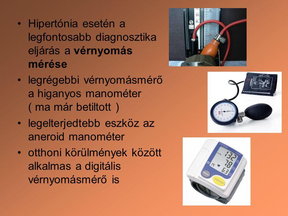 a magas vérnyomás és a stádium diagnózisa