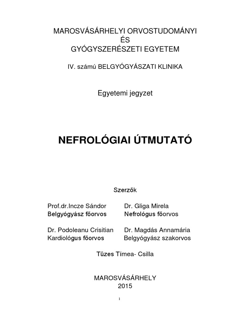 nephrogén magas vérnyomás)