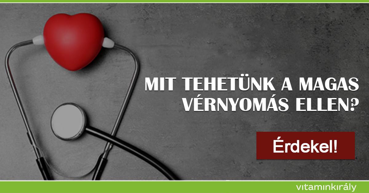 nátrium magas vérnyomás esetén