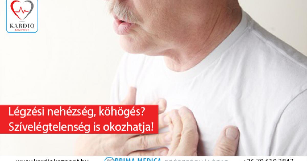 légszomj és köhögés magas vérnyomással)