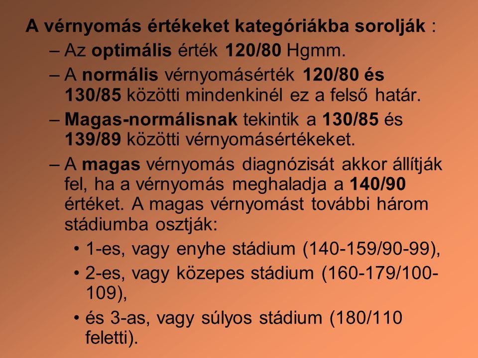 a magas vérnyomás és a stádium diagnózisa)