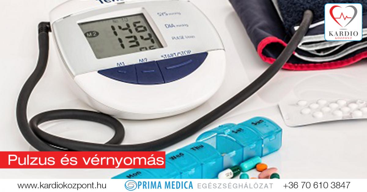 milyen pulzusnak kell lennie magas vérnyomás esetén
