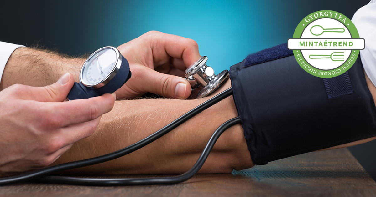 fitoterápia magas vérnyomás esetén