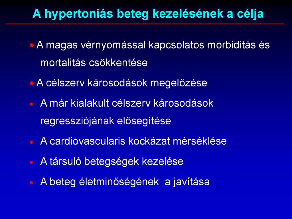 a célszerv károsodásának mértéke magas vérnyomásban sport magas vérnyomás ellen