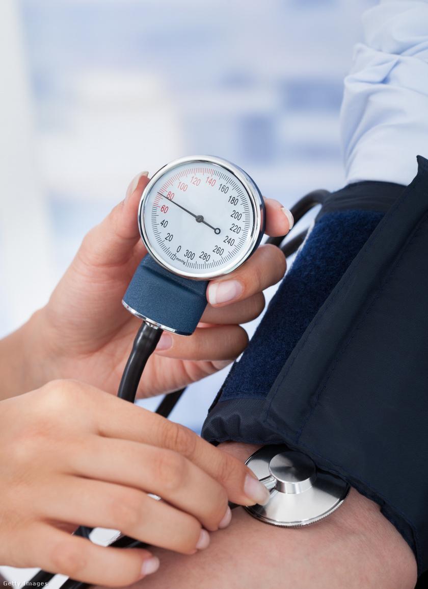 magas vérnyomás nyomás 190