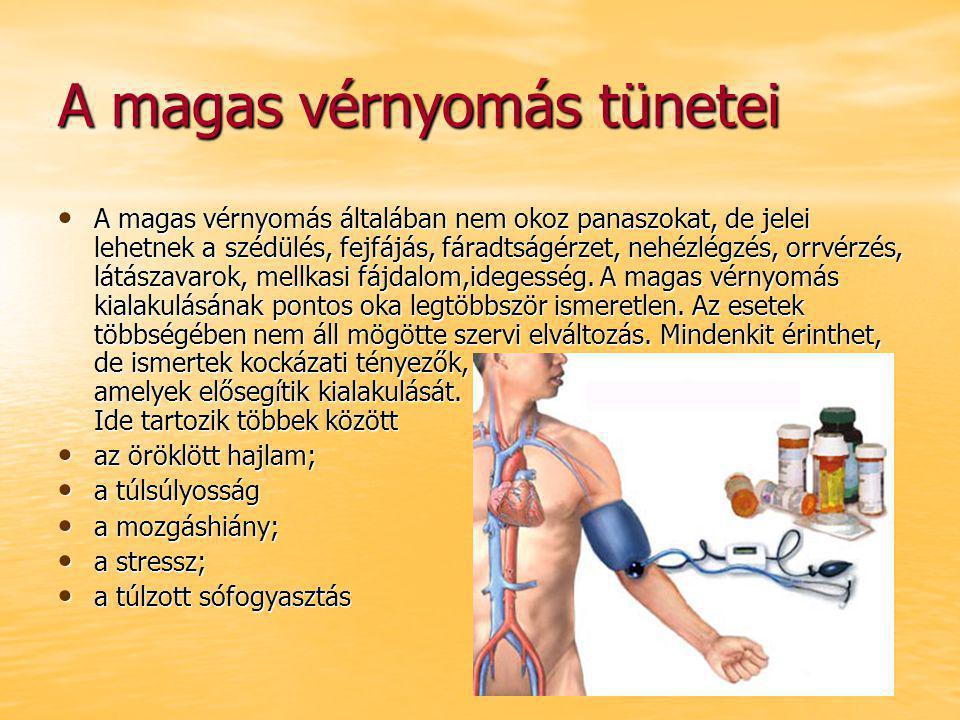 a nem magas vérnyomás kezelésére vénás hipertónia tünetei