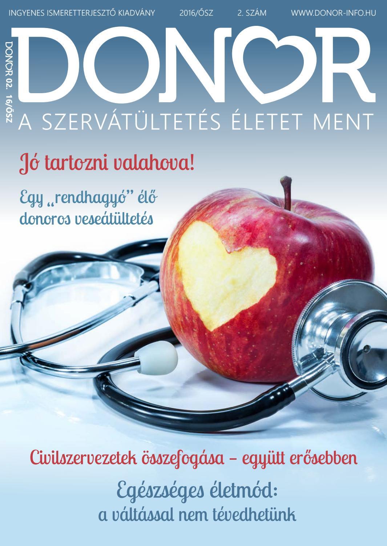 donor magas vérnyomásban gyakori vizelés és magas vérnyomás