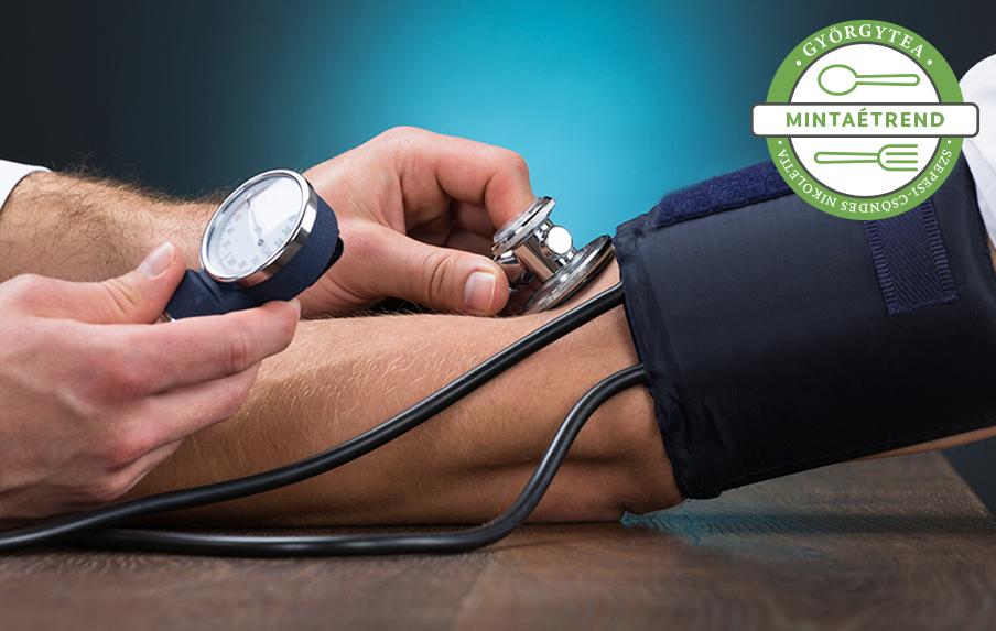 olyan termékek amelyek segítenek a magas vérnyomás kezelésében
