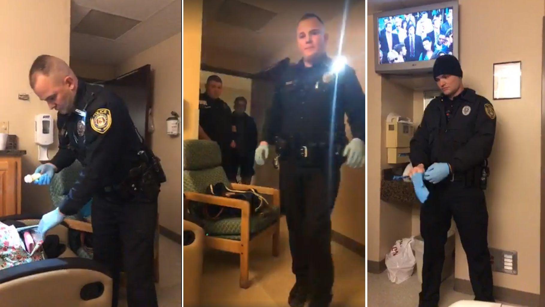 Felszökött a rendőrök vérnyomása?