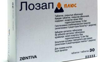 Lozap: gyógyszer leírás, farmakokinetika, hatásmechanizmus