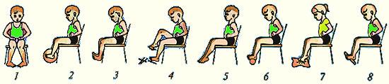 magas vérnyomás és gyakorlatok halmaza képekkel)