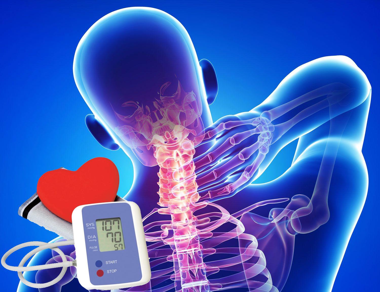 az osteochondrosis és a magas vérnyomás közötti kapcsolat)