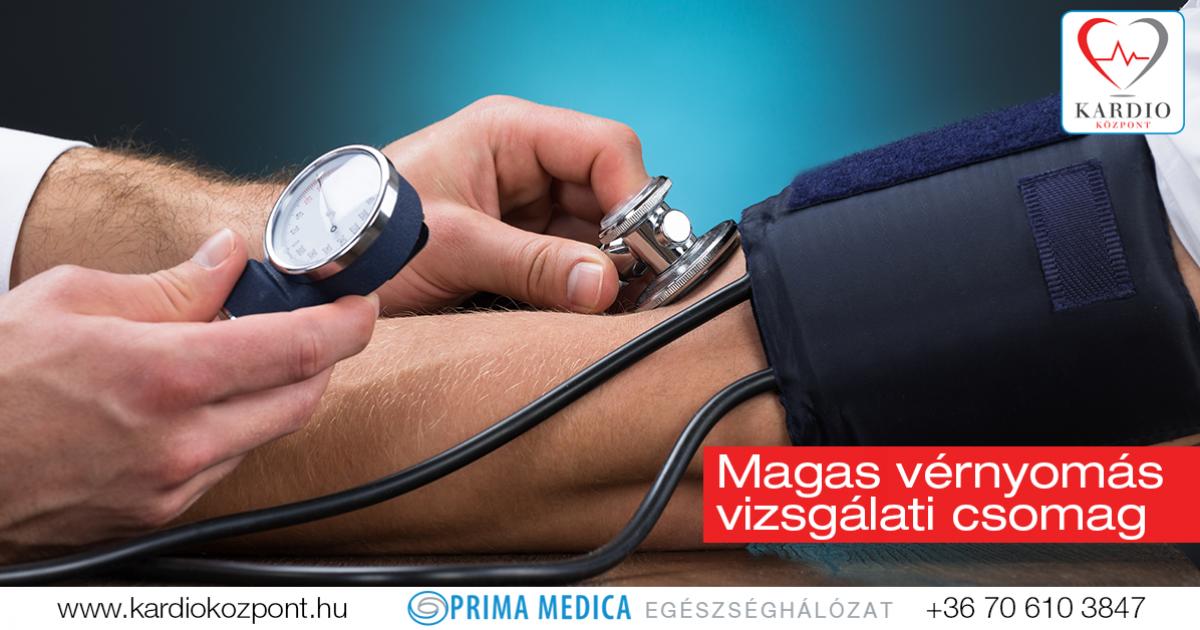 a magas vérnyomás testkezelésének vizsgálata