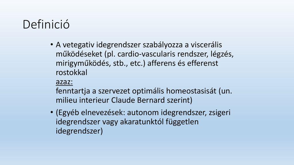 Hipotonikus típusú vegetatív-vaszkuláris dystonia: okok és kezelés - Magas vérnyomás November
