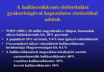 halláskárosodás magas vérnyomás esetén