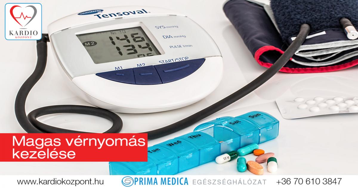 a magas vérnyomás kezelésének rendje)