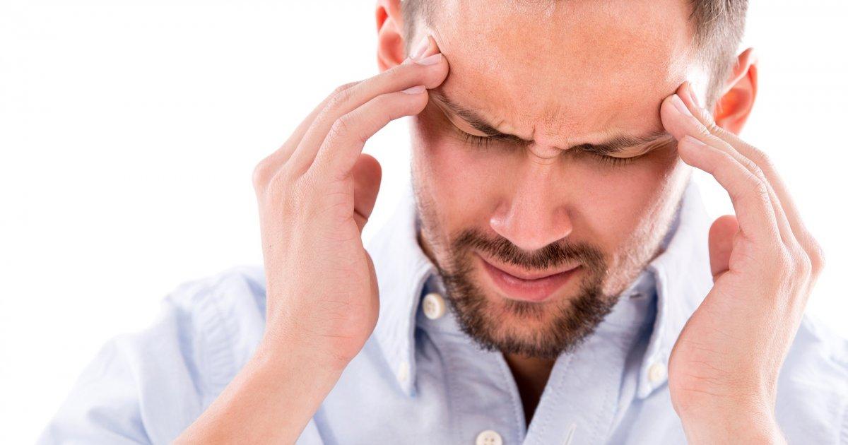 magas vérnyomás ahol a fej fáj