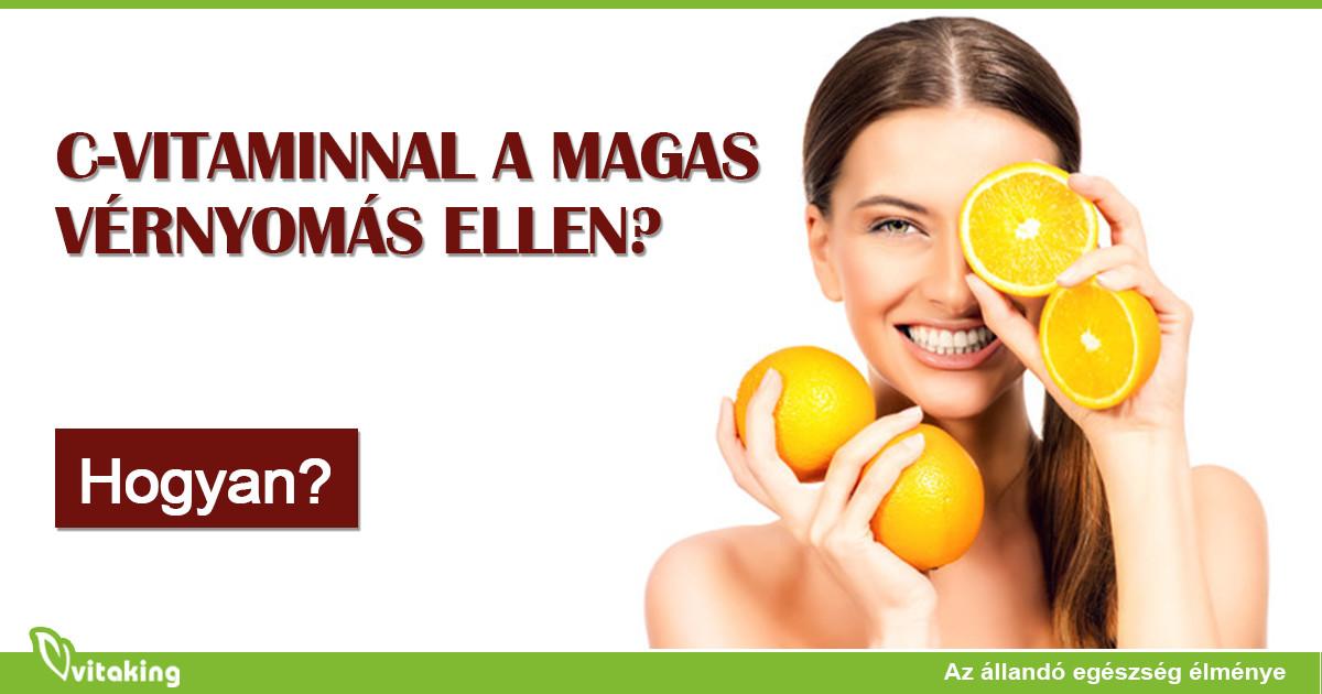 A C-vitamin hatással van a vérnyomásra? | Peak Man