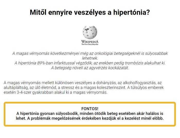 Van hipertónia fórum)