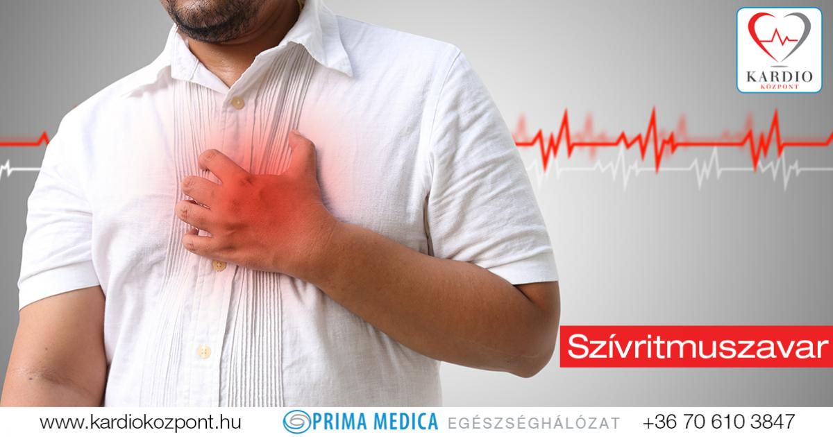 magas vérnyomás szívritmuszavar