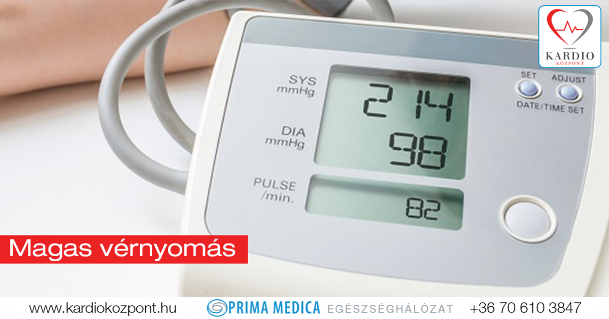 magas vérnyomás és megelőzése)