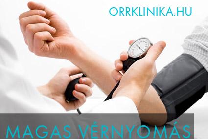 orrvérzés első segítség magas vérnyomás esetén)