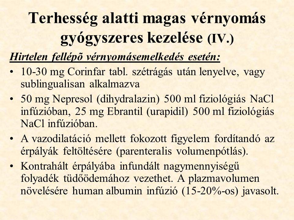 A magas vérnyomás ASD gyógyszeres kezelése